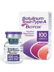 botox box and bottle packaging